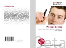 Обложка Philippe Buchez