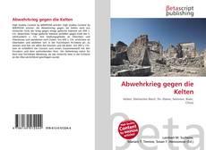 Buchcover von Abwehrkrieg gegen die Kelten