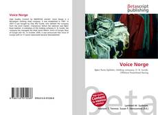 Bookcover of Voice Norge