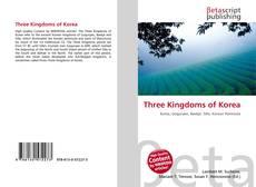Обложка Three Kingdoms of Korea