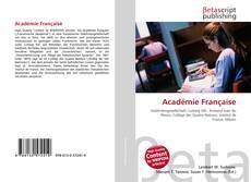Buchcover von Académie Française