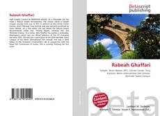 Rabeah Ghaffari kitap kapağı