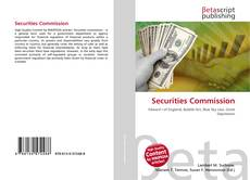 Bookcover of Securities Commission