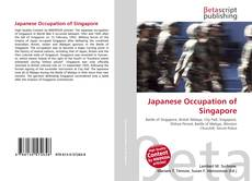 Capa do livro de Japanese Occupation of Singapore