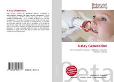Bookcover of X-Ray Generation