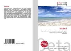 Capa do livro de Vitória