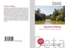 Bookcover of Tourism in Bolivia