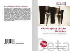 Couverture de X-Ray Magnetic Circular Dichroism