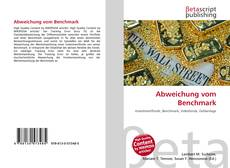 Bookcover of Abweichung vom Benchmark