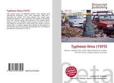 Обложка Typhoon Nina (1975)