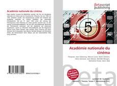 Académie nationale du cinéma kitap kapağı