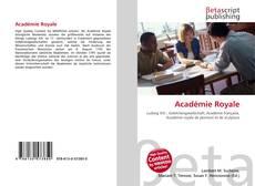 Académie Royale的封面