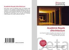 Académie Royale d'Architecture的封面