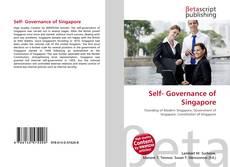 Bookcover of Self- Governance of Singapore
