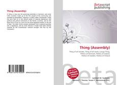 Bookcover of Thing (Assembly)