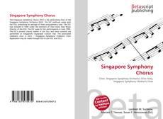 Bookcover of Singapore Symphony Chorus