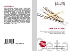 Zacharie Astruc kitap kapağı