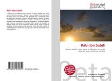 Bookcover of Rabi ibn Sabih