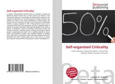 Bookcover of Self-organized Criticality