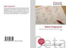 Portada del libro de Rabin Fingerprint