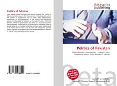 Bookcover of Politics of Pakistan