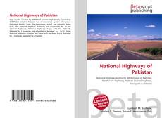 Bookcover of National Highways of Pakistan