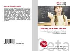 Couverture de Officer Candidate School