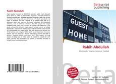 Buchcover von Rabih Abdullah