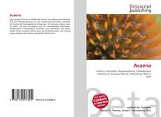 Buchcover von Acaena