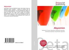 Bookcover of Abyssinien