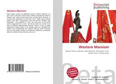 Bookcover of Western Marxism