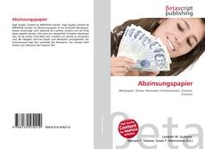 Bookcover of Abzinsungspapier