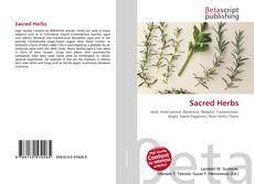 Bookcover of Sacred Herbs