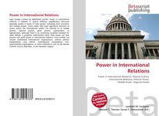 Bookcover of Power in International Relations