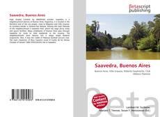 Обложка Saavedra, Buenos Aires