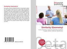 Bookcover of Similarity (Geometry)