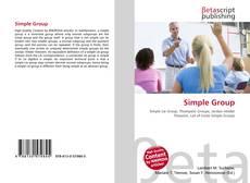 Capa do livro de Simple Group