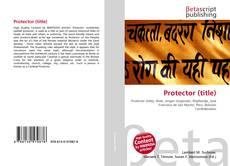 Buchcover von Protector (title)