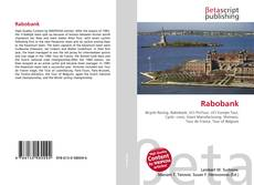 Bookcover of Rabobank
