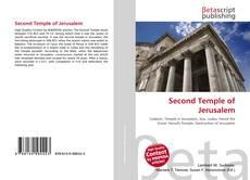 Buchcover von Second Temple of Jerusalem
