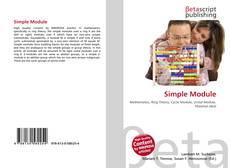 Capa do livro de Simple Module