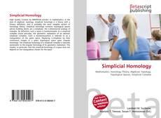 Couverture de Simplicial Homology