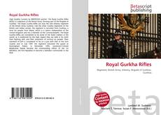 Capa do livro de Royal Gurkha Rifles