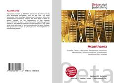 Acantharea kitap kapağı