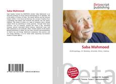 Bookcover of Saba Mahmood