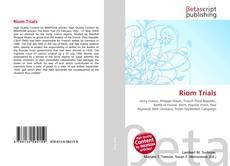 Bookcover of Riom Trials