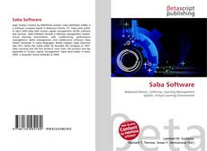 Bookcover of Saba Software