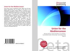 Portada del libro de Union for the Mediterranean