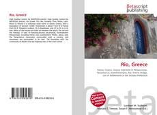 Bookcover of Rio, Greece