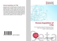 Copertina di Persian Expedition of 1796